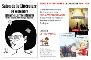 Salon_Litterature_Boulogne_30 septembre 2017