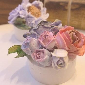 Clay Cream Flower
