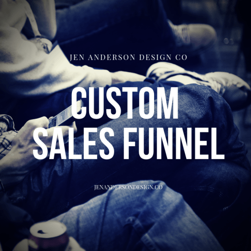 custom sales funnel