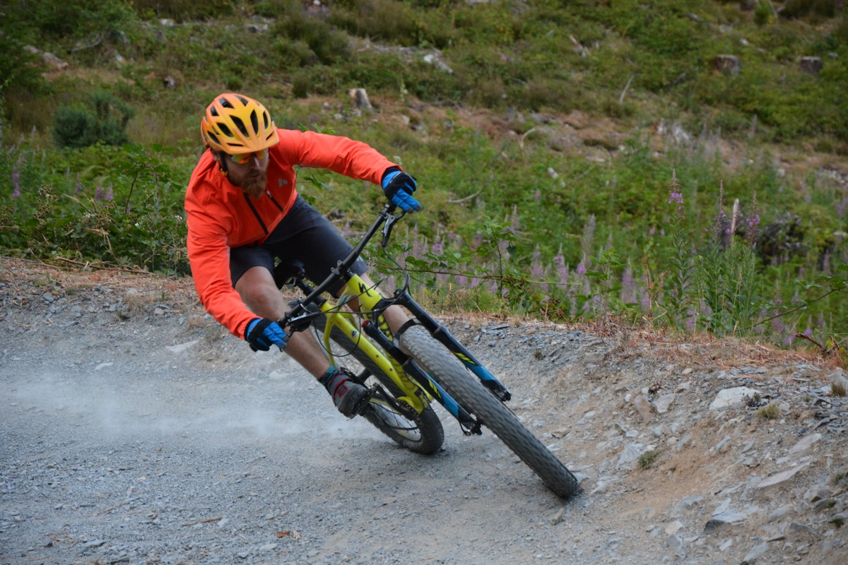 Hitting the trails at Coed-y-Brenin