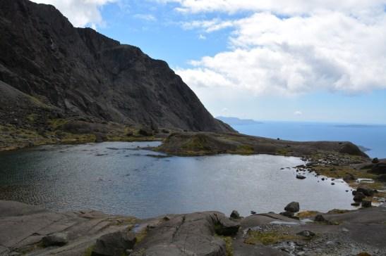 Climbing Coire Lagan on Skye