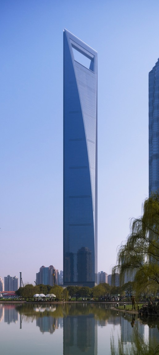 Shangai World Financial Center - 1,614 ft