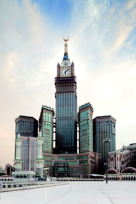 Makkah Royal Clock Tower Hotel, Mecca, Saudi Arabia - 1,971 ft