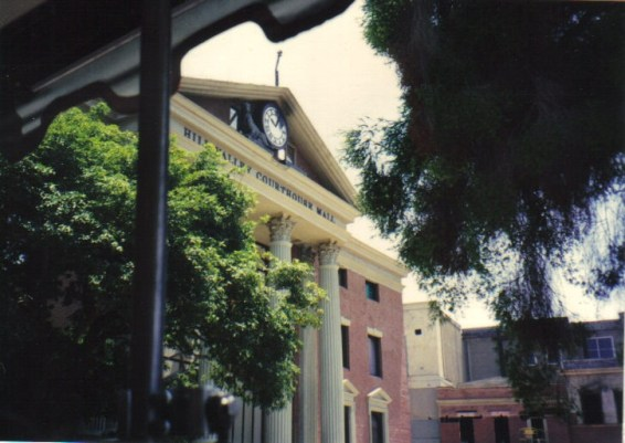 Courthouse Square - Universal City (universal studios, visitable)