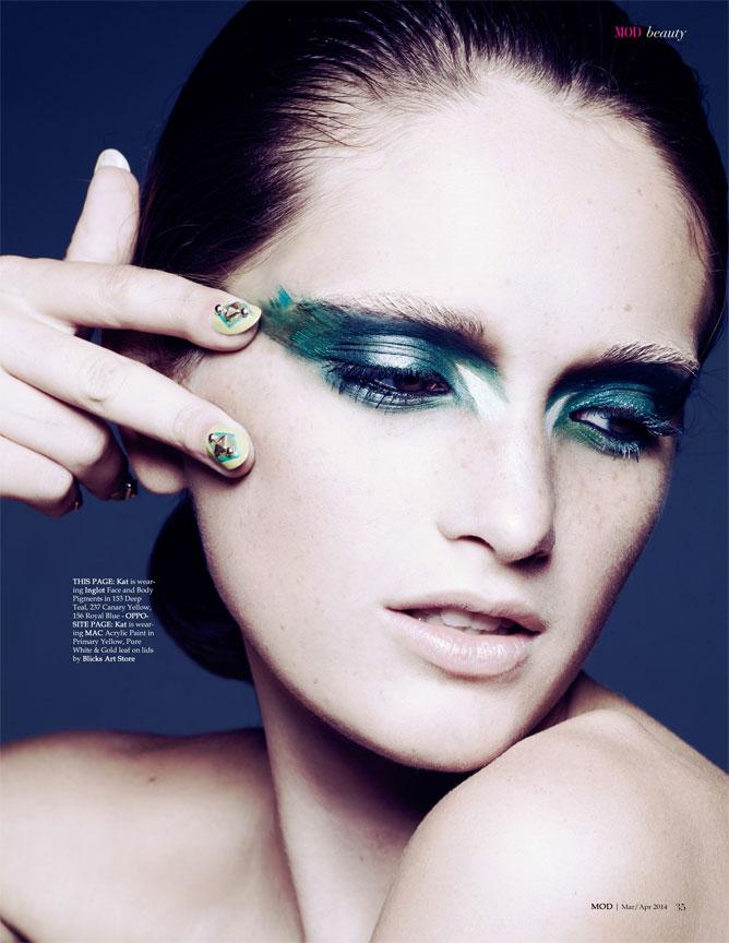 Green Beauty Portrait