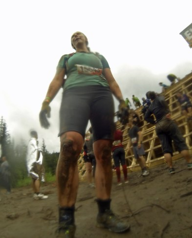 Jen's post-failure pic @ Everest :( My first sign of blood, too.