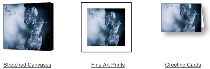Frozen Sight on Fine Art America