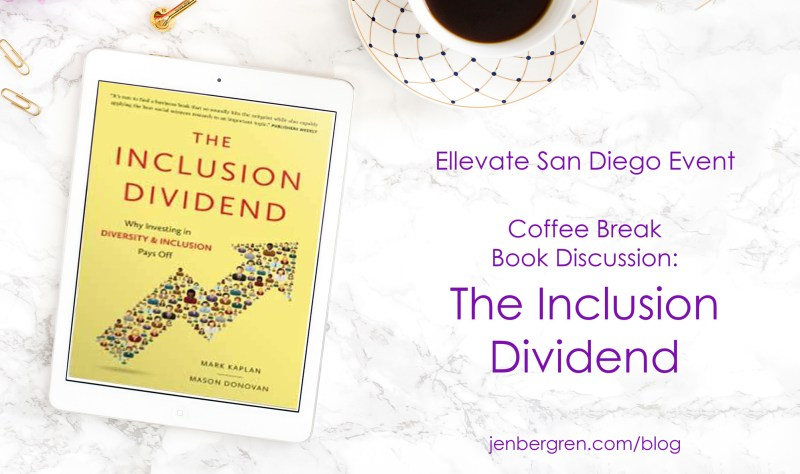Inclusion dividend book discussion