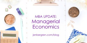 MBA managerial economics