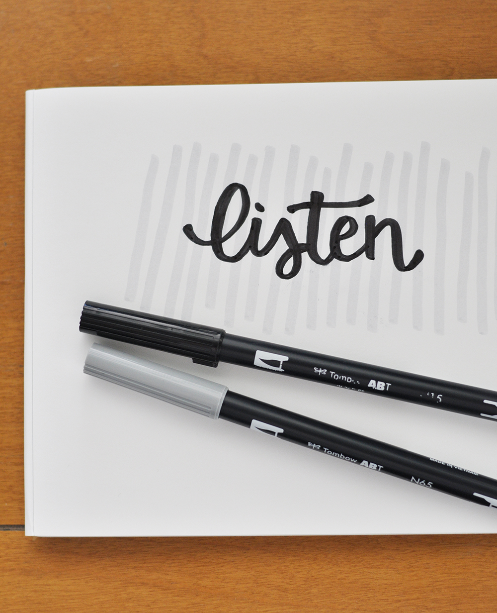 my mantra for april: LISTEN...to my children, my husband, my friends, and inspiration as it strikes