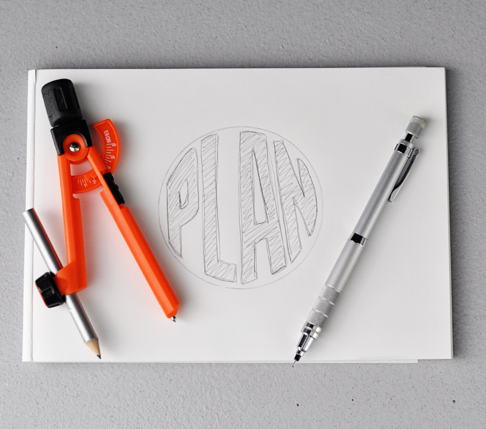 my mantra for the month: PLAN. Get all the creative ideas I have onto paper and figure out how to turn them into reality.
