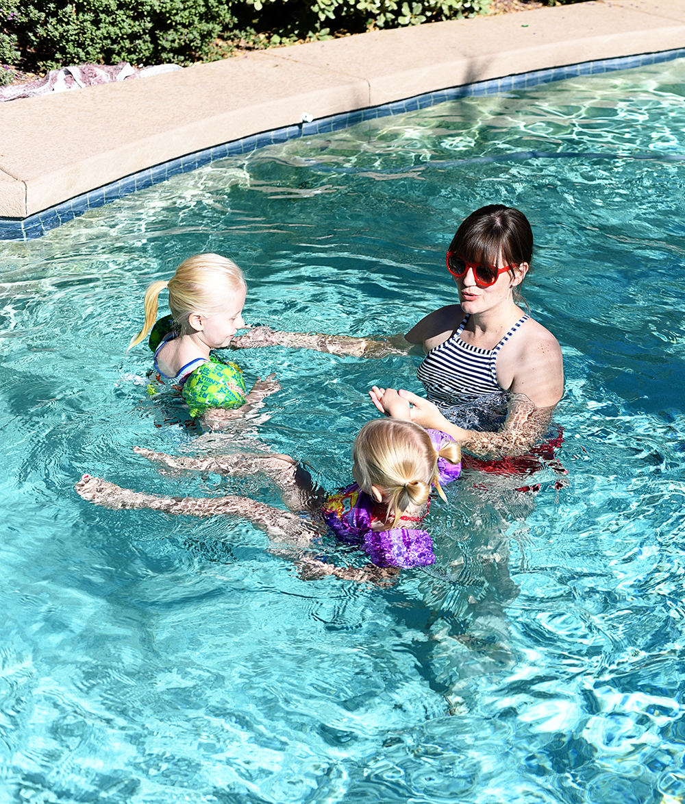 Scared of taking a trip to the pool with kids? Here are 9 tips to make going to the pool with kids easier and more enjoyable for everyone!