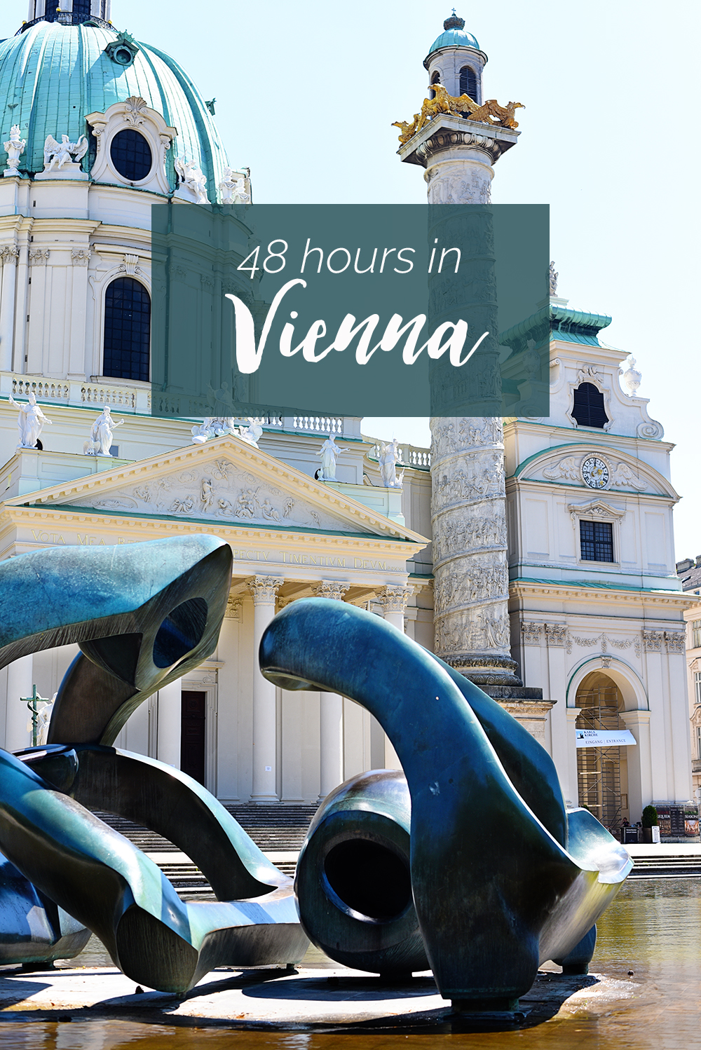 The Best of Vienna in 48 Hours: a VERY detailed travelogue of our 2 day stay in Vienna, including travel tips, restaurant suggestions, and more