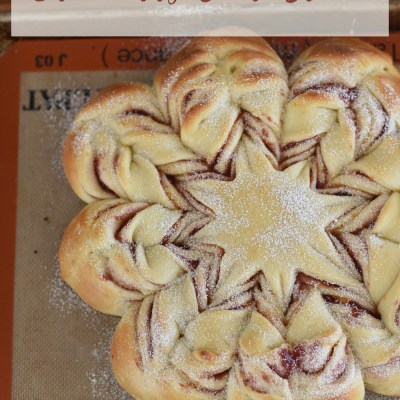 Christmas Cranberry Star Bread
