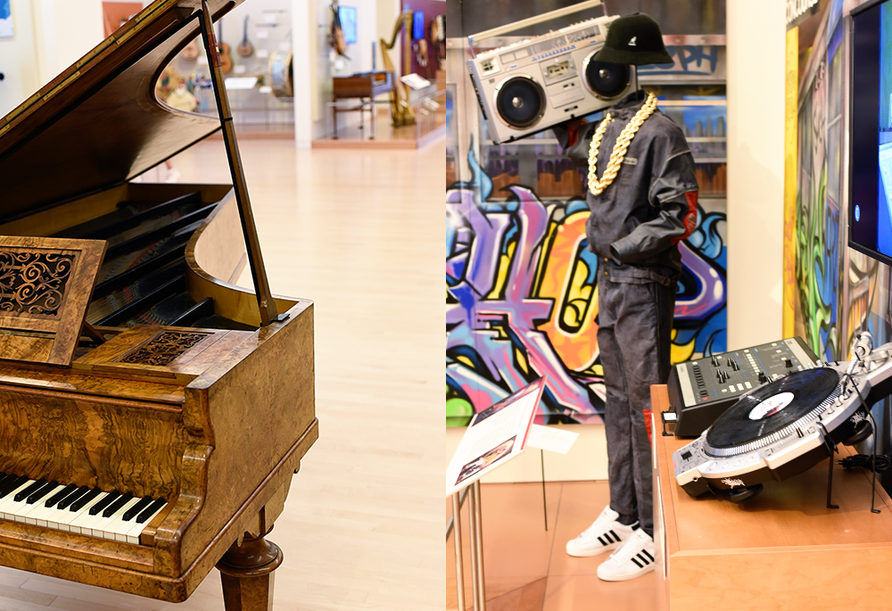 Guide to visiting the MIM (Musical Instrument Museum) in Scottsdale, Arizona: classical and hip hop are both represented