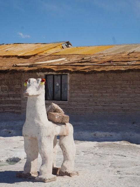 Llama of salt
