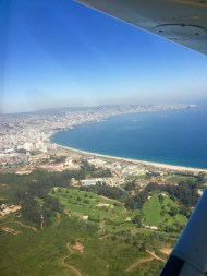 Valpo from the air