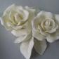Роза из белого шоколада