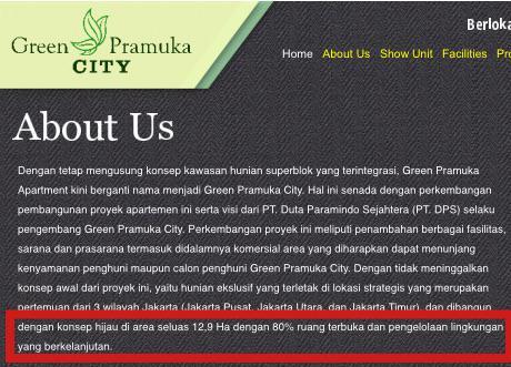 Acho VS Apartemen Green Pramuka – Siapa yang Salah dan Siapa yang Benar?
