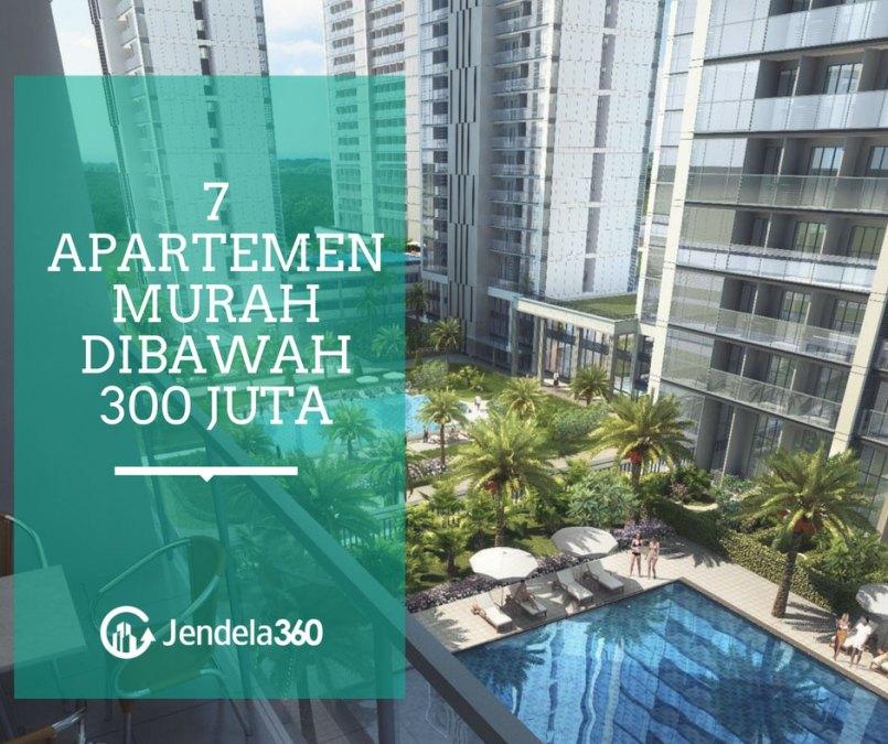 7 Apartemen Murah Dibawah 300 Juta di Jakarta