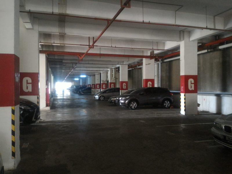gedung parkir si sunter icon