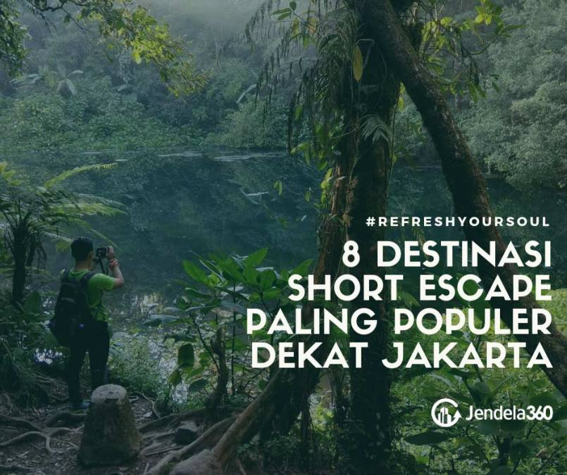 8 Destinasi Short Escape Paling Populer Dekat Jakarta
