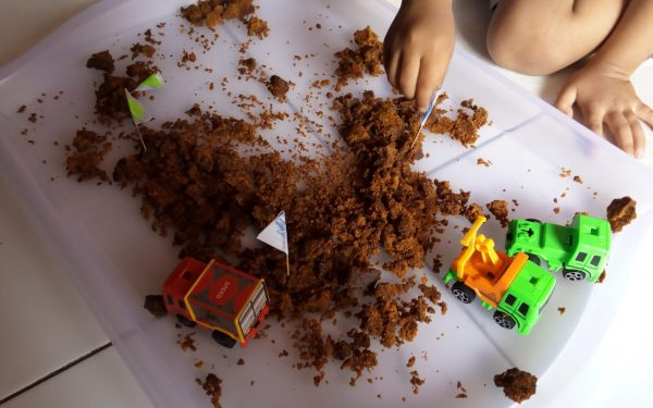 A Happy Soil Sensory Play Day