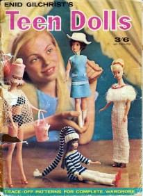 Teen Dolls Pattern Book