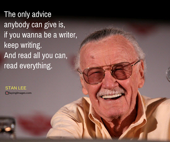 Stan Lee quotes for writers