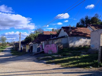 """Vigtelep, in the city of Miskolc, was the first settlement I visited. About 80 families live there, most of them without reliable electricity or running water. The roads here are unpaved, and residents say that in winter they are impassable. """"The ambulances won't come up here,"""" they told me."""