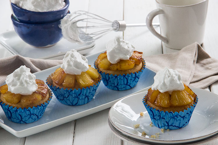 Pineapple-Upside-Down-Cupcakes-with-Whipped-Coconut-Cream