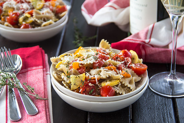 Veggie-Pasta-with-Parmesan-and-White-Wine