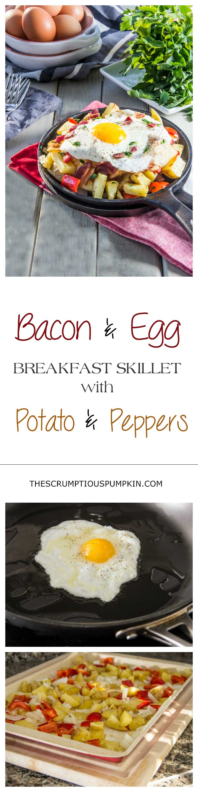 Bacon-and-Egg-Breakfast-Skillet-with-Potato-and-Peppers