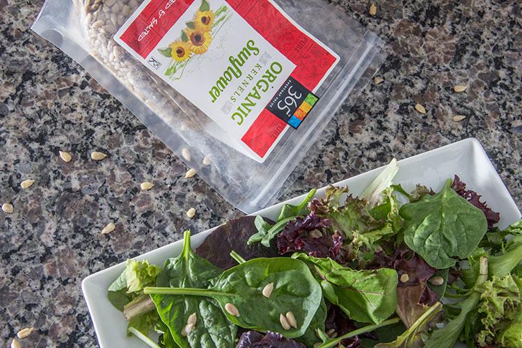 sunflower-seeds-on-greens