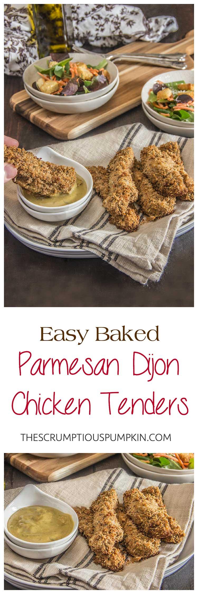 Easy-Baked-Dijon-Parmesan-Chicken-Tenders