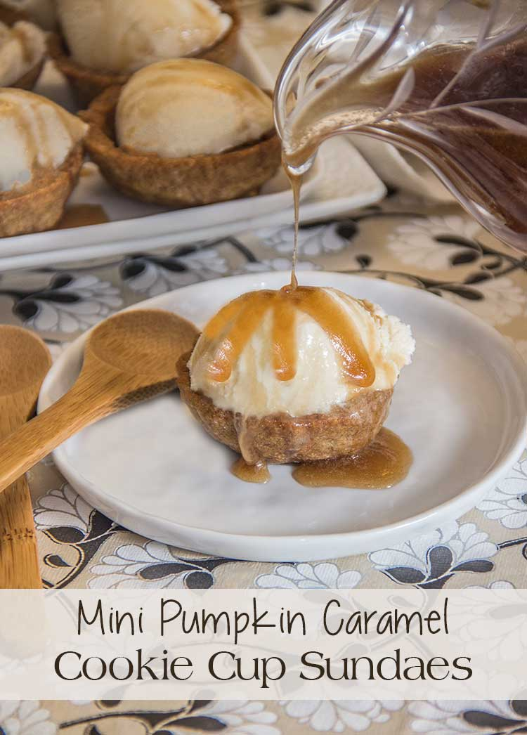 Mini-Pumpkin-Cookie-Cup-Sundaes