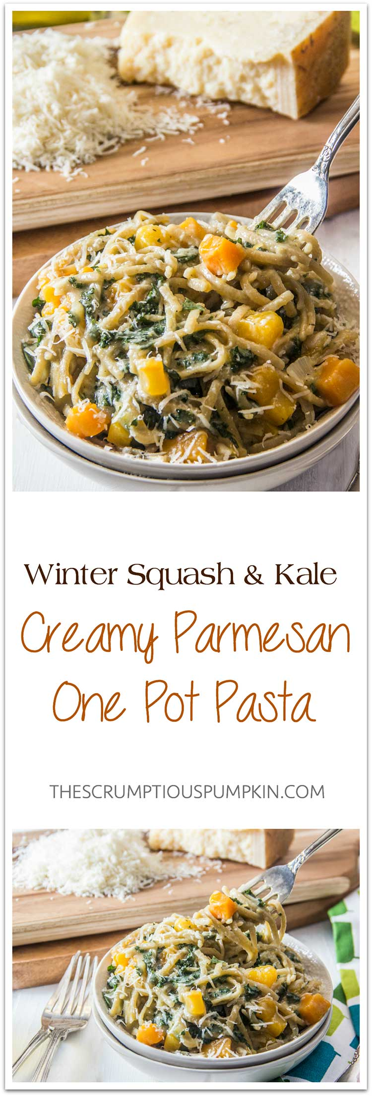 Winter-Squash-and-Kale-Creamy-Parmesan-One-Pot-Pasta
