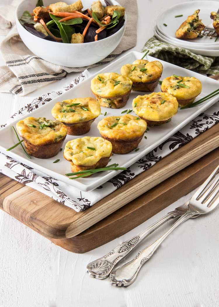 Spinach-Frittata-Minis