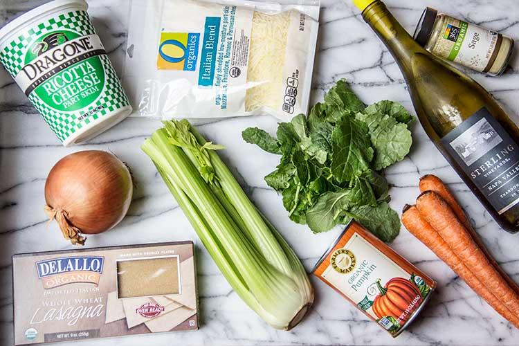 easy-30-minute-pumpkin-lasagna-ingredients