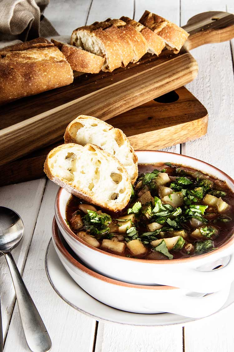 Slow-Cooker-Tuscan-Bread-Soup-with-White-Beans-and-Kale