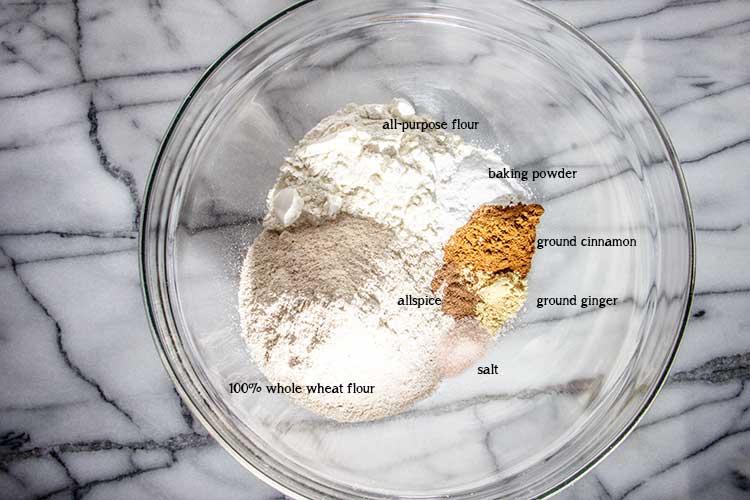 mini-chocolate-chip-pumpkin-muffins-dry-ingredients