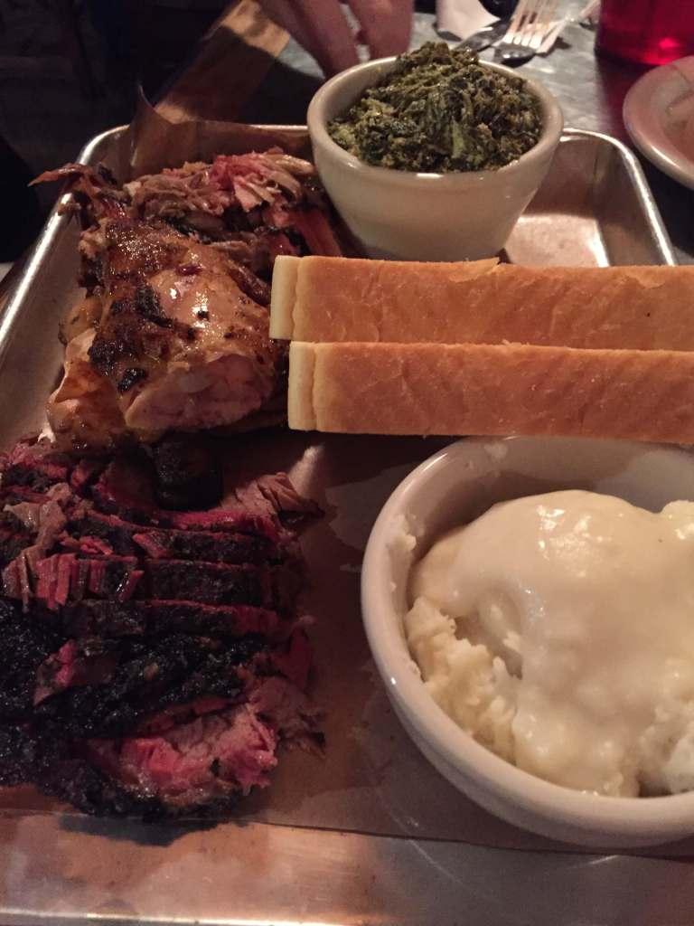 Try Texas BBQ in Austin