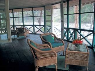 The Glenburn Lodge - Verandah