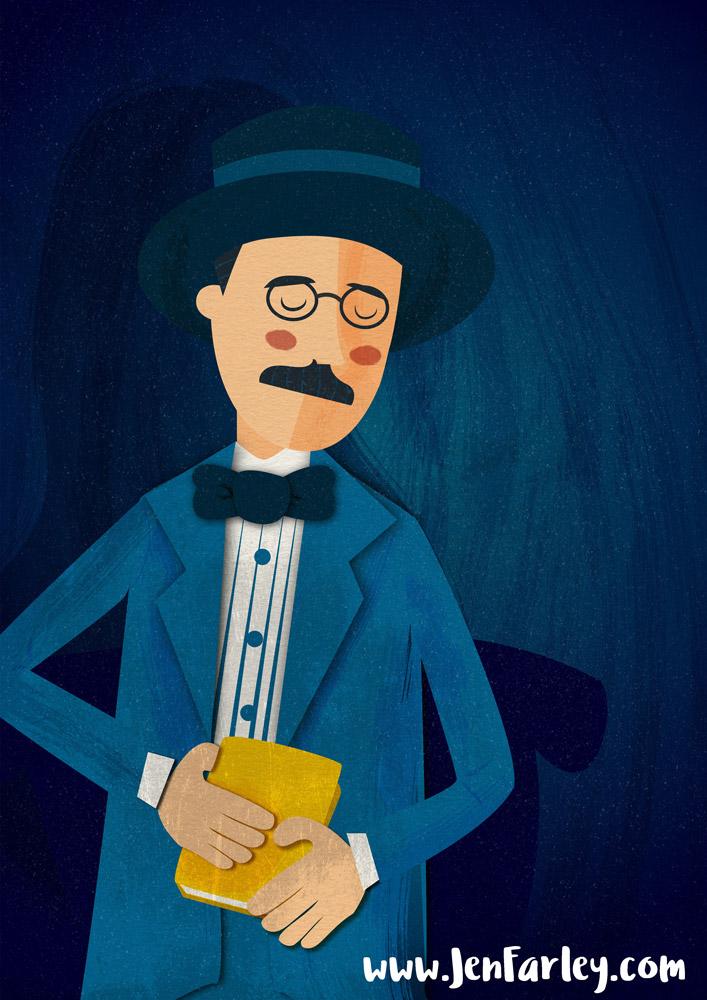 James Joyce illustrated by Jennifer Farley