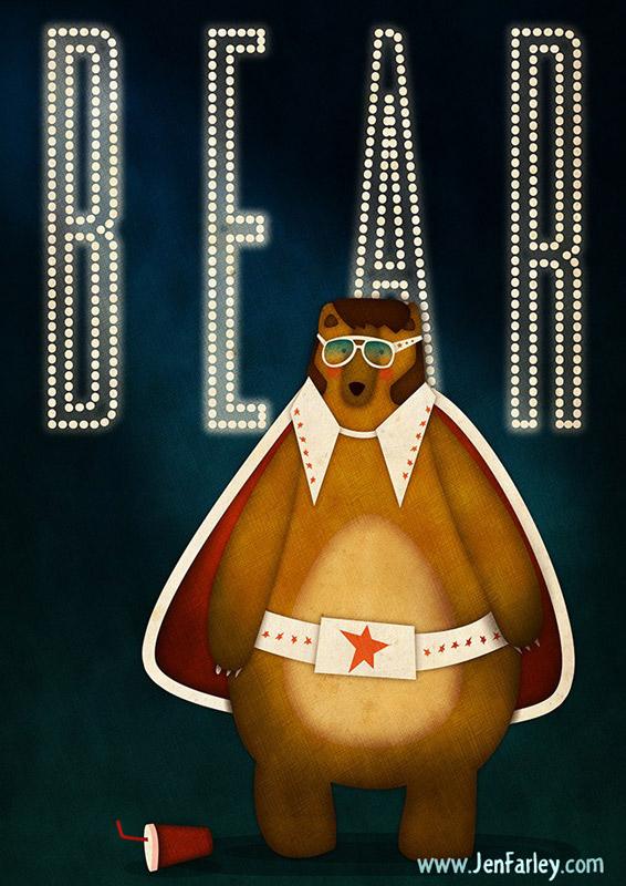 Elvis Bear illustrated by Jennifer Farley