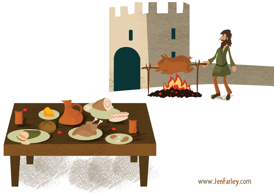Fionn And Dragon Activities Illustrated By Jennifer Farley