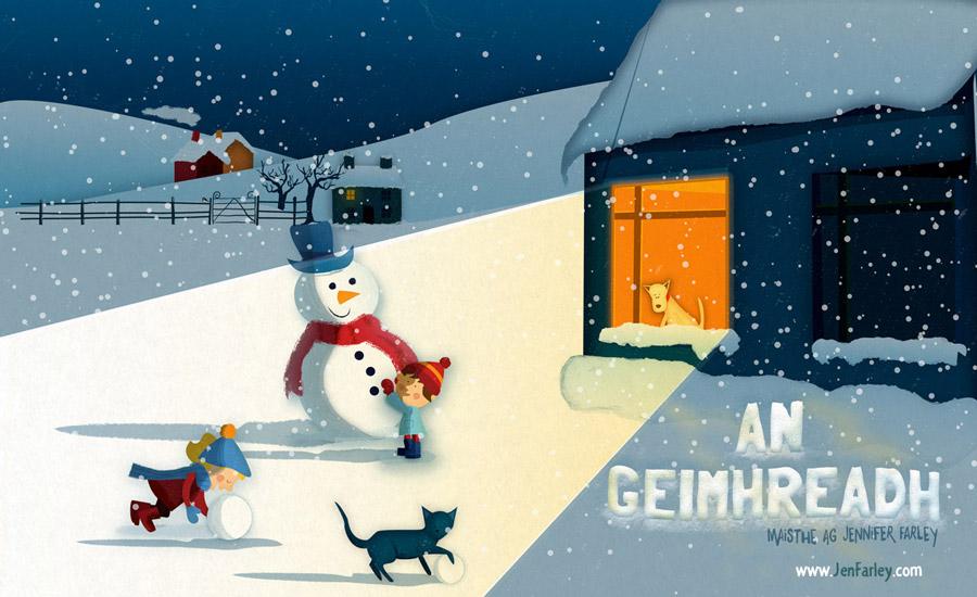 Winter - Art by Jennifer Farley