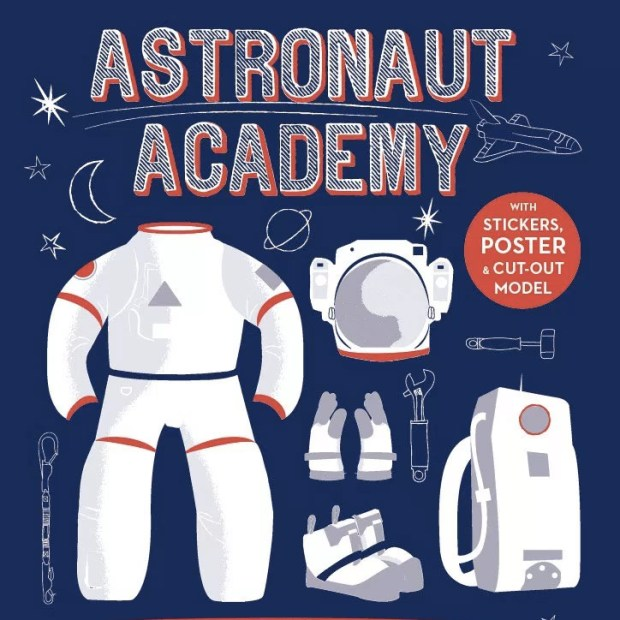 Astronaut-Academy--Book-Cover - illustrated by Jennifer Farley
