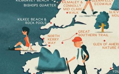 Illustrated Maps | Jennifer Farley Illustration, Maps  Design