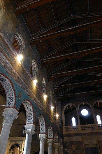Details of Chiusi Duomo Interior
